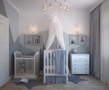 5x tips hoe je de babykamer kunt inrichten